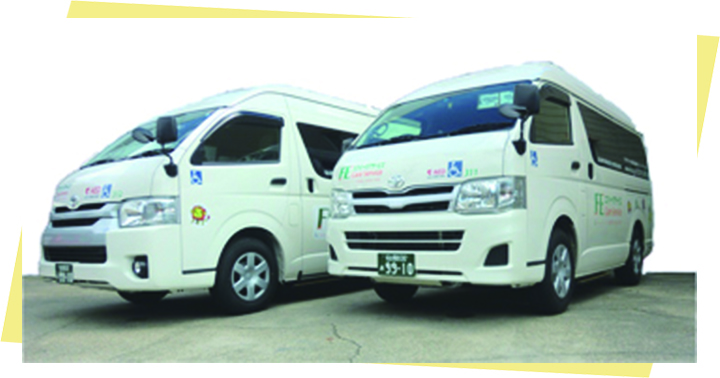名古屋介護車両2台