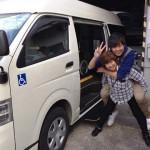 名古屋車両部の介護車両課の一枚