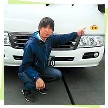 事業本部 東京車両部 副部長 伊藤大介