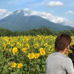 北海道夏ロケでの一枚